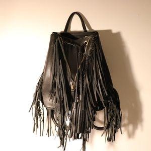 Zara Black Bucket Bag